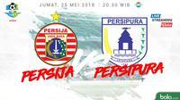 Liga 1 2018 Persija Jakarta Vs Persipura Jayapura (Bola.com/Adreanus Titus)