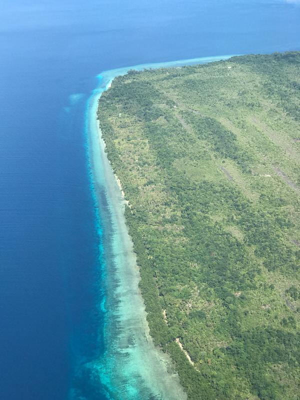 Pulau Owi, Papua. (dok. Instagram @dwijayadi8/https://www.instagram.com/p/BljXN4ghgc_/?utm_source=ig_web_copy_link/Asnida Riani)