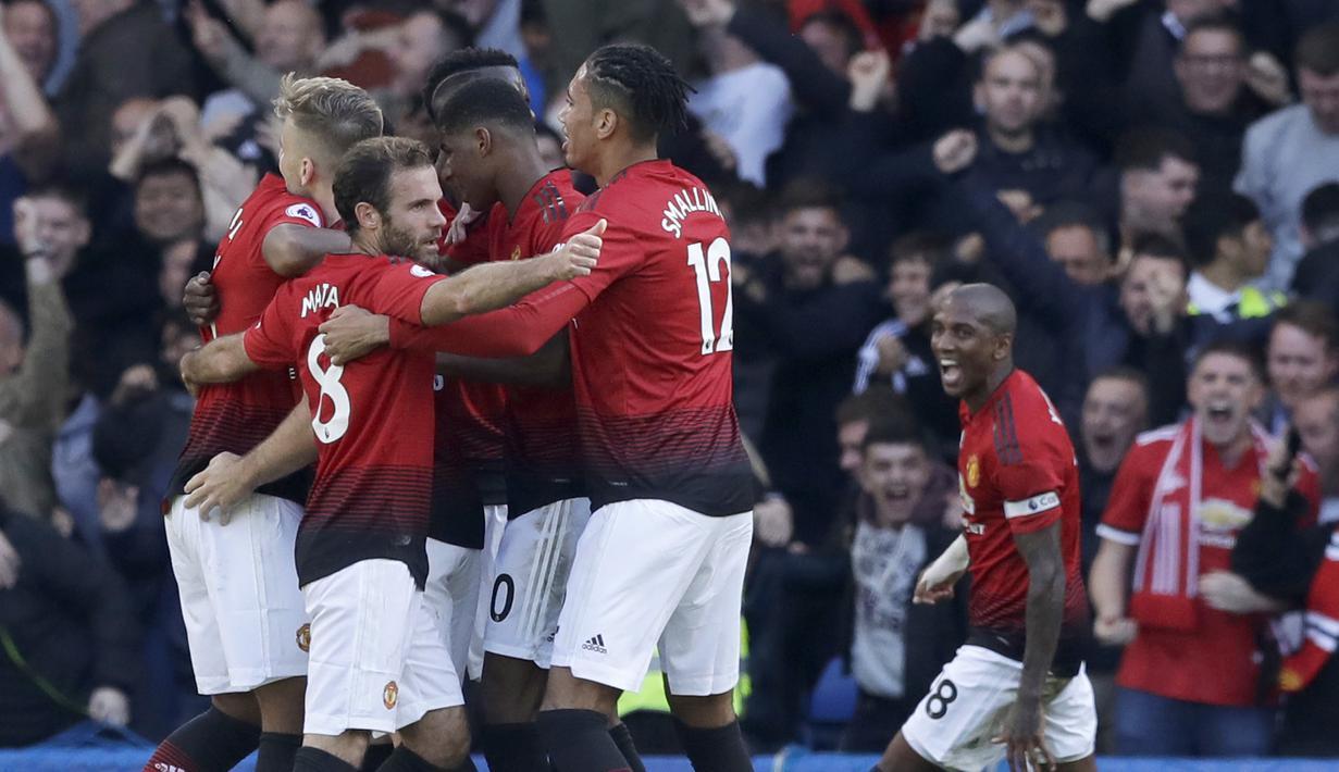 FOTO Duel Panas Chelsea Kontra Manchester United Berakhir