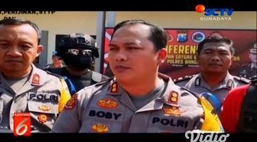 Satgas Pemberantasan Narkoba Polres Bangkalan menyita sabu seberat 203,51 gram atau 2 ons lebih yang dikendalikan dari balik Lapas Porong, Kabupaten Sidoarjo.