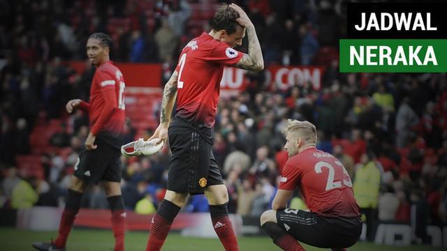Berita video Manchester United akan bertemu lawan-lawan tangguh pada Februari dan Maret 2019. Bahkan ada jadwal yang berdekatan saat itu. Siapa saja lawan The Red Devils nanti?