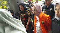 Ratna Sarumpaet tiba di Kejari Jakarta Selatan (Liputan6.com/ Ady Anugrahadi)