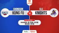 Chongson Kung Fu Vs CLS Knights (Bola.com/Adreanus Titus)