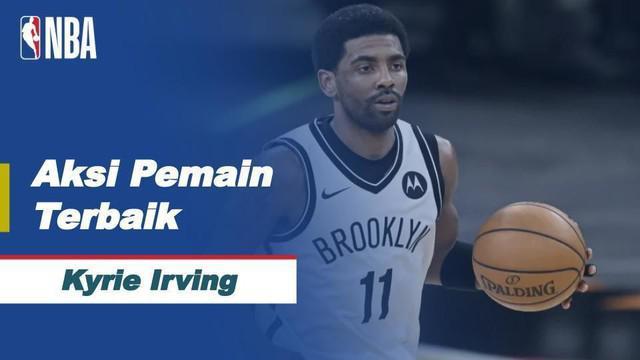 Berita Video Kyrie Irving Jadi Pemain Terbaik di NBA Hari Ini Usai Bantu Brooklyn Nets Kalahkan Phoenix Suns