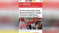 Hoaks Catut Berita Merdeka.com. (Merdeka.com)