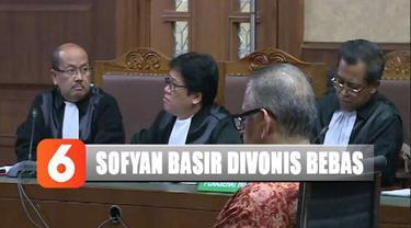 Artinya secara sah, Sofyan Basir tidak terbukti melanggar hukum dan hak-haknya diminta untuk dikembalikan, termasuk rekeningnya yang dibekukan oleh KPK.