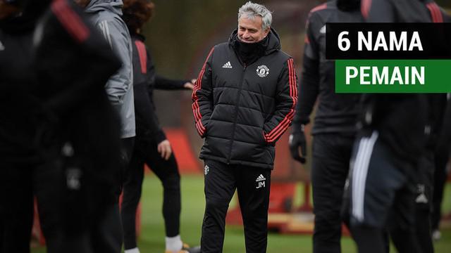 Berita video Manchester United yang memberi 6 nama pemain pilihan incaran untuk Manajer Jose Mourinho.