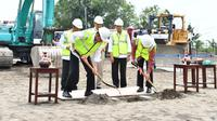 Jokowi meresmikan pembangunan Bandara Internasional Yogyakarta (Ahmad Romadoni/Liputan6.com)
