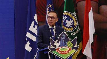 Ketua PSSI Mochamad Iriawan di Kongres Tahunan PSSI 2021