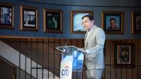 CEO Citi Indonesia Batara Sianturi ketika membuka acara peluncuran Citi Simplicity+.