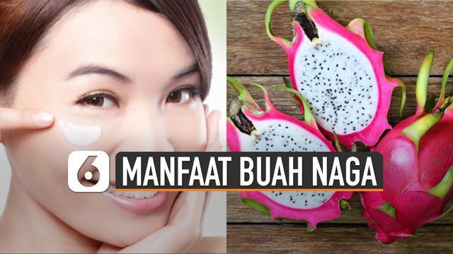 Selain kaya vitamin C dan baik untuk dikonsumsi tubuh. Buah naga ternyata juga dapat bermanfaat untuk kesehatan kulit wajah.