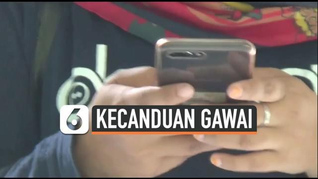 RS Marzuki Mahdi Kota Bogor, Jawa Barat menangani puluhan pasien anak dan remaja yang mengalami gangguan jiwa. Beberapa di antaranya merupakan pasien gangguan kejiwaan akibat kecanduan gadget.