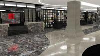 Perpustakaan di Turki ini sebagian besar bangunannya berasal dari batu alam yang membuatnya mendapat julukan 'Perpustakaan Batu'  (Foto: http://www.dailysabah.com/)