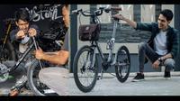 Sepeda buatan bengkel motor custom SAC (SAC)