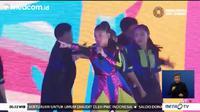 [Foto: Tayangan Penutupan Asian Para Games 2018
