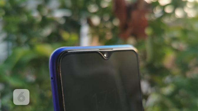 Dewdrop Screen Realme XT (2). Liputan6.com/Mochamad Wahyu Hidayat