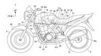 Honda CB250 kabarnya akan gunakan monoshock (Motorbeam)