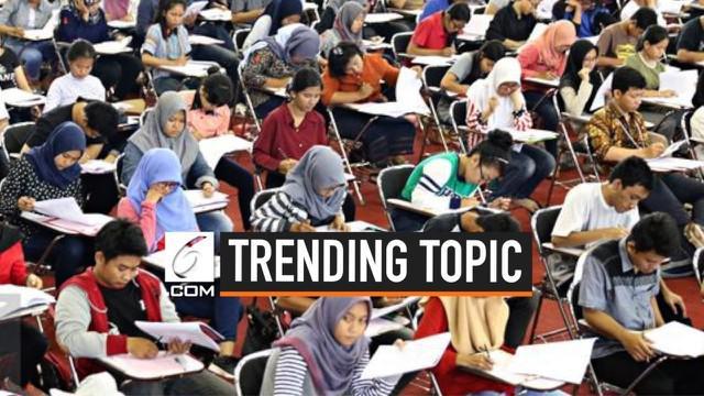 Pengumuman SBMPTN 2019 akan dibuka pada Selasa 9 Juli 2019 pukul 15:00 WIB. Warganet ramai membicarakan di media sosial, hingga tagar SBMPTN menjadi trending topic Indonesia.