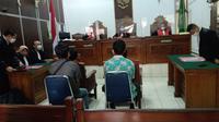 Pengadilan Negeri Jakarta Selatan menggelar sidang perdana kasus kebakaran Gedung Kejaksaan Agung. Gedung tersebut diketahui terbakar pada 22 Agustus 2020 malam.
