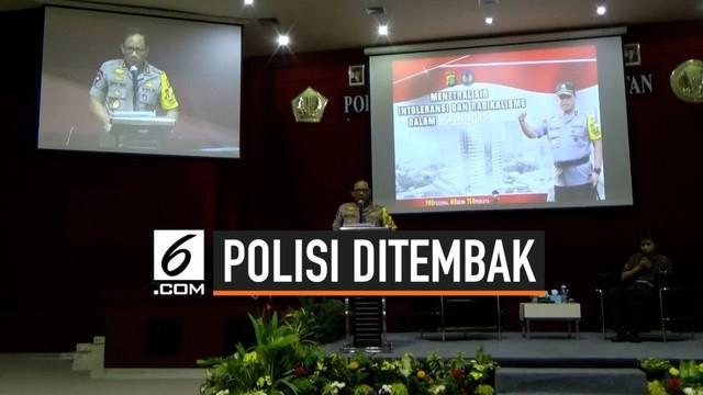 Kapolda Metro Jaya Inspektur Jenderal Gatot Eddy Pramono angkat bicara terkait insiden penembakan polisi di polsek Cimanggis Depok hari Kamis (25) malam.