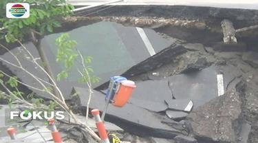 Polda Jatim sedang dalami lima undang-undang yang dilanggar dalam amblesnya Jalan Gubeng, Surabaya.