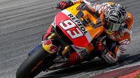 Marquez akan memulai balapan di MotoGP Austin dari start paling depan.