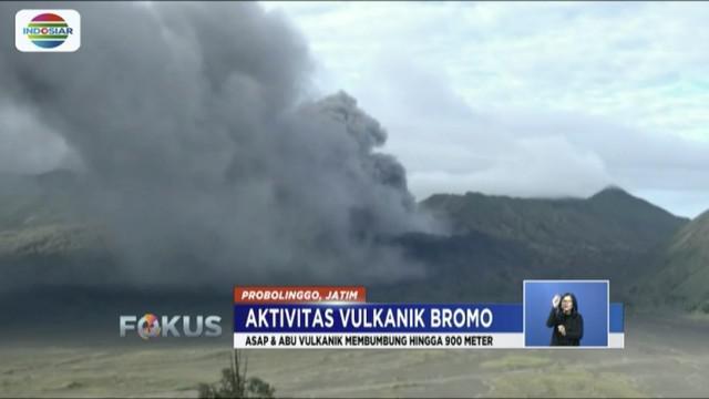 Persebaran abu vulkanik Gunung Bromo diperkirakan meluas hingga Pasuruan dan Malang akibat perubahan arah angin.