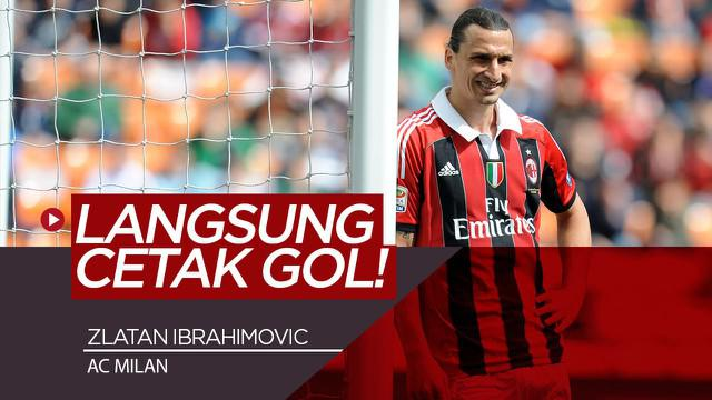 Berita Video Zlatan Ibrahimovic Jalani Partai Persahabatan dan Langsung Cetak Gol Untuk AC Milan