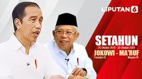Setahun Jokowi - Ma'ruf Amin (Liputan6.com/Abdillah)