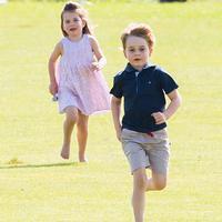 Pangeran George dan Putri Charlotte. (Hello Magazine)