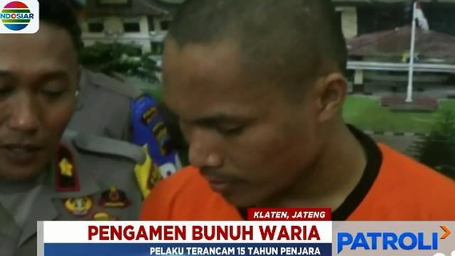 Pembunuhan bermula saat pelaku asal Kabupaten Samosir, Sumatra Utara, mengunjungi rumah korban.