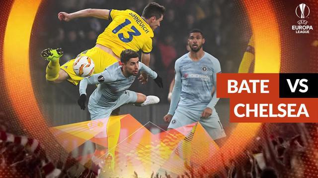 Berita video gol tunggal Olivier Giroud, Chelsea memastikan diri ke-32 besar Liga Europa setelah mengalahkan BATE Borisov pada laga keempat Grup L Liga Europa, di Borisov Arena, Kamis (8/11/2018)