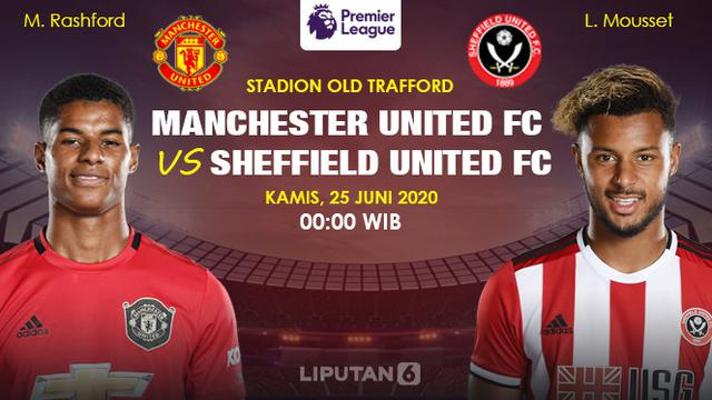 Link Live Streaming Premier League Manchester United Vs Sheffield United Bola Liputan6 Com