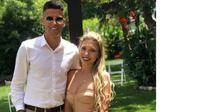 Bek anyar Manchester City Joao Cancelo dan sang istri, Daniela Machado. (foto: https://www.instagram.com/danielalexmachado)