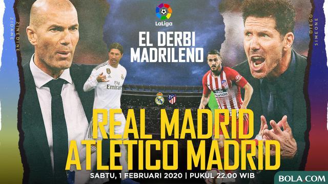 Live Streaming Liga Spanyol Real Madrid Vs Atletico Di Vidio
