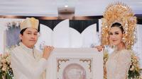 Imaz Fitria resmi menikah dengan Reza Dias Kurniawan. (Foto: Fatahillah Ginting Photography dari Instagram @imazfitria)