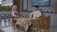 Adegan sinetron Para Pencari Tuhan Jilid 14 tayang setiap hari mulai pukul 02.45 WIB di SCTV selama Ramadan 2021