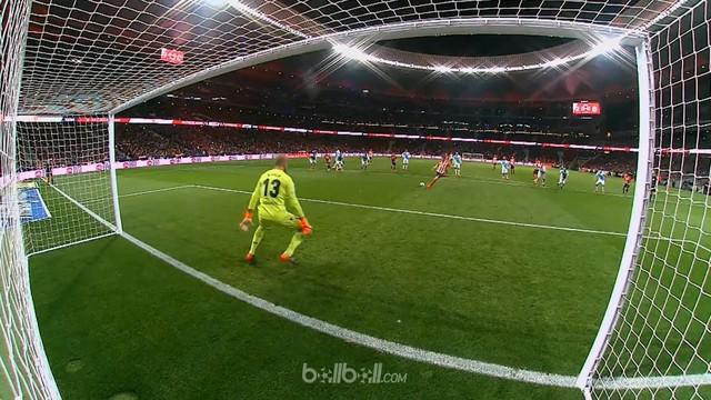 Eksekusi penalti di babak pertama Kevin Gameiro menjadi satu-satunya gol yang tercipta di laga Atletico Madrid kontra Deportivo me...