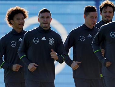 Jerman Siap Hadapi Perancis