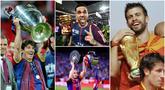 Berikut daftar pemain luar biasa dengan raihan trofi terbanyak pada abad 21. Tiga diantaranya adalah Lionel Messi, Dani Alves dan Gerard Pique.