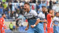 3. Ciro Immobile (Lazio) - 10 gol dan 1 assist (AFP/Tiziana Fabi)