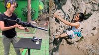 Potret Prisia Nasution Saat Lakoni Hobi Olahraga Ekstrem. (Sumber: Instagram/prisia)