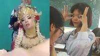 6 Potret Menahan Kantuk Ini Kocak, Ada yang Menguap Lebarr (sumber: Instagram.com/receh.id)