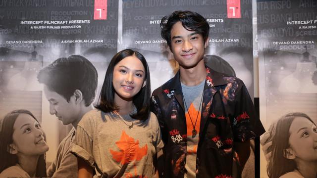 Devano Danendra dan Aisyah Aqilah dalam film MeloDylan.