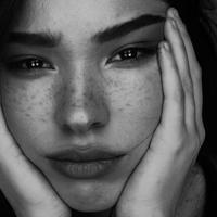Ilustrasi freckles. (Foto: unsplash.com)