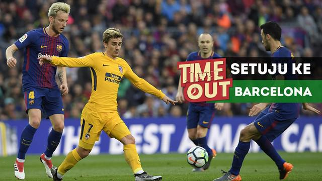 Berita video Time Out kali ini tentang kabar Antoine Griezmann yang sepakat hengkang dari Atletico Madrid ke Barcelona.