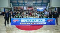 SMAN 71 Juara East Region DBL Indonesia 2018 (Istimewa)