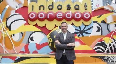 Presiden Direktur dan CEO Indosat Ooredoo Ahmad Al-Neama