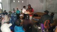 Ratusan warga di Sigi terserang diare, Dinkes siaga pelayanan. (Liputan6.com/Heri Susanto)