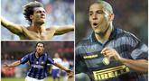 Inter Milan baru saja mendatangkan Romelu Lukaku sebagai striker baru, La Beneamata memang dikenal sebagai klub yang sering mendatangkan striker kelas dunia. Berikut tujuh striker kelas dunia yang pernah membela Inter Milan. (Kolase Foto dari AFP)